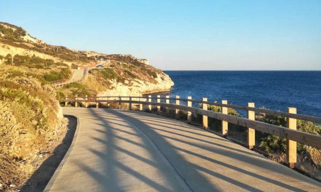 Calamosca e la nuova terrazza sul mare