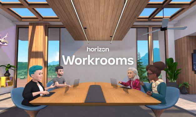 Workrooms, le riunioni in realtà virtuale secondo Facebook